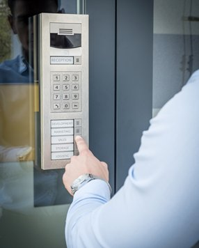 County Security Systems - Keypad Access Control, Security Systems, Southern England