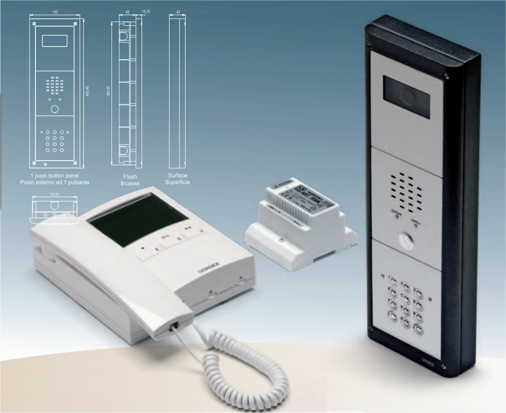 The Security Network Secure-Net Door Entry Systems in England, Wales, UK