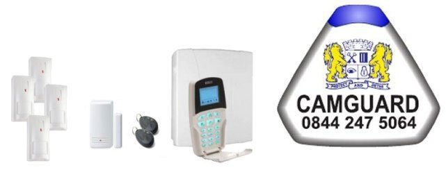 East Anglia served by Camguard Alarm Installers - Risco Intruder Alarms and Home Automation
