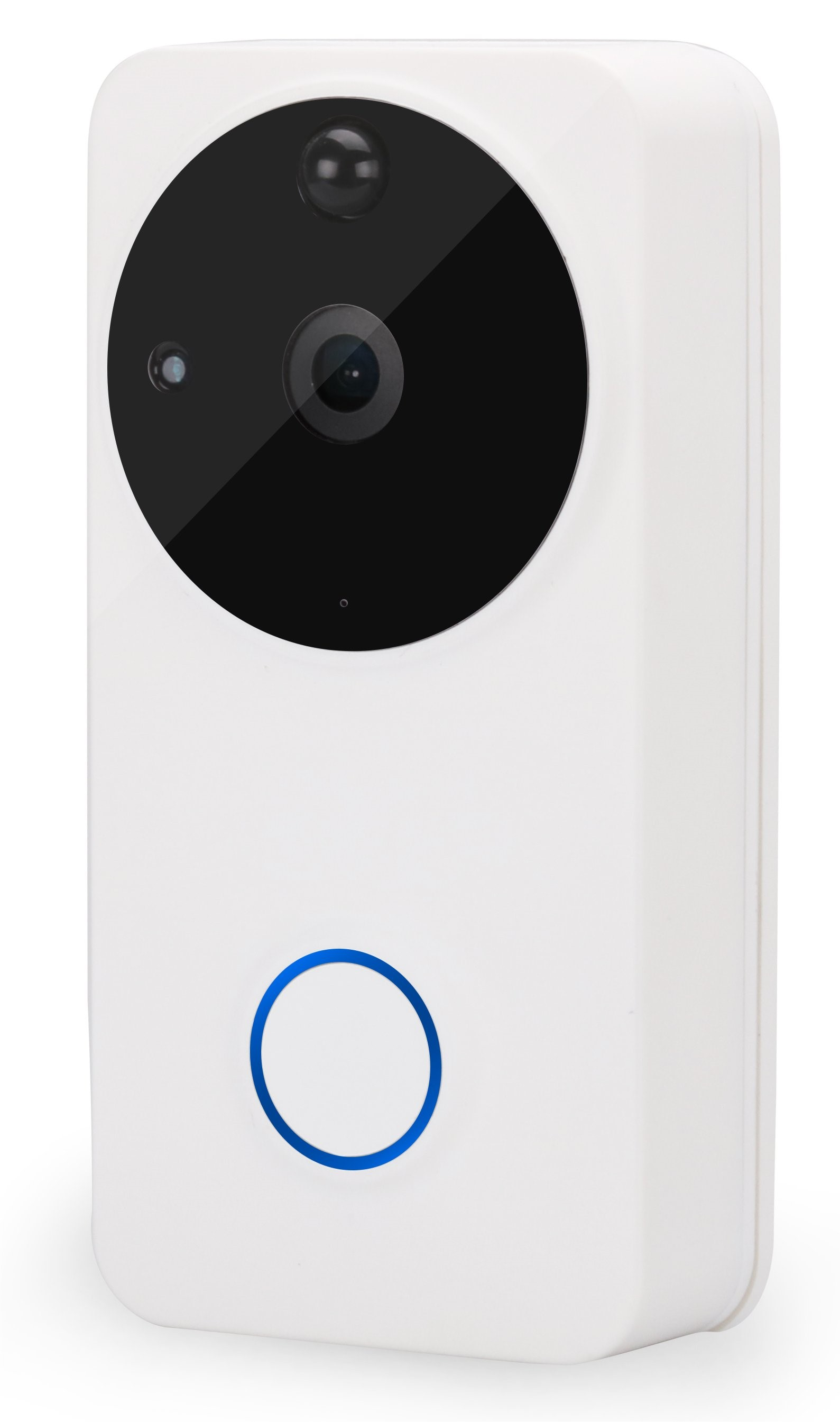 The Security Network for White Smart Door Bell in England, Wales, UK