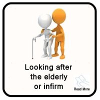 The Security Network Looking After the Elderly in England, Wales, UK