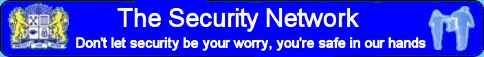 The Security Network ltd Banner